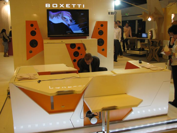 Boxetti,100% Design London,dizains