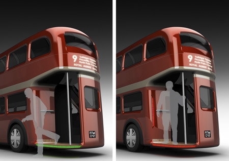 "2. vietas ieguvējs konkursā ""Bus for London"" - ""Welcome Back"" autobus"