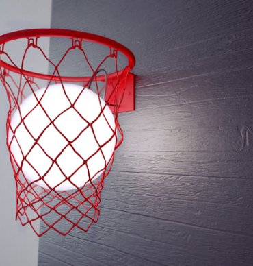Basketbola groza lampa