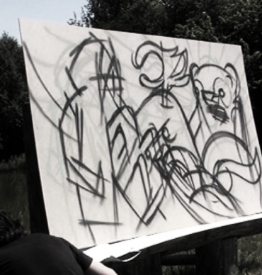 BBQ graffiti video